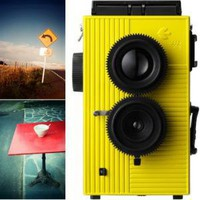 Poketo! Blackbird Fly Twin Lens Reflex Camera - Yellow