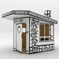 Magis - Villa Julia Small Cardboard House | Panik Design