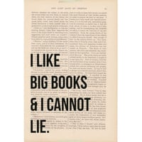 dictionary art vintage I Like BIG BOOKS and I by ExLibrisJournals