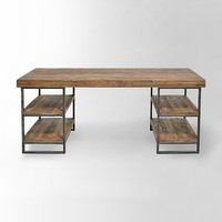 Hewn Wood Desk