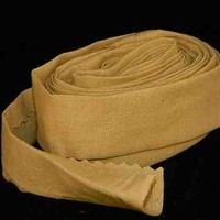 Neutral Tan Handmade Bias Tape 1 inch wide Cotton Material
