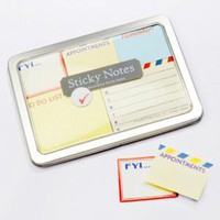 fredflare.com |  vintage sticky notes set