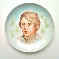 Christopher Walken The Deer Hunter hand painted plate