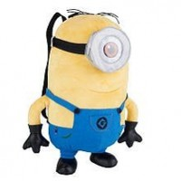 Despicable Me 2 Plush Minion Stuart 15 inch Backpack:Amazon:Toys & Games