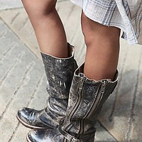 Bed Stu  Davi Distress Tall Boot at Free People Clothing Boutique