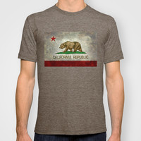 State flag of California T-shirt by LonestarDesigns2020 - Flags Designs +