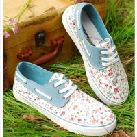 Canvas shoes/d 017