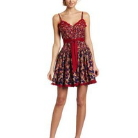 Betsey Johnson Women's Corset Dress