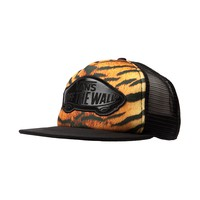 Vans Tiger Trucker Hat, Black Brown | Journeys Shoes