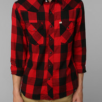 Urban Outfitters - Salt Valley Buffalo Plaid Western Shirt