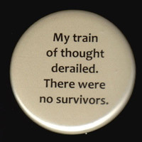 Train of Thought Button by kohaku16 on Etsy