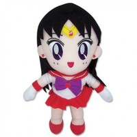 "Great Eastern GE-7507 Sailor Moon 8"" Plush Doll, Sailor Mars:Amazon:Toys & Games"
