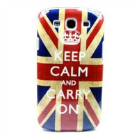 Retro Keep Calm UK Hard Case Cover for Samsung Galaxy S 3 III S3 I9300:Amazon:Cell Phones & Accessories