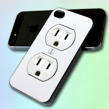 Electric Outlet by GreatCover Print Design for iPhone 4/4s iPhone 5 Samsung S3 i9300 Samsung S4 i9500