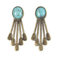 Canoe Paddle Earring / Antique Brass (view more colors) - The 2 Bandits