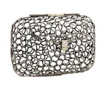 Open Web Clutch - ANNDRA NEEN Open Web Clutch