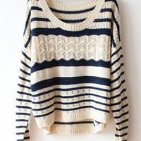 BEIGE BATWING SLEEVES SWEATER