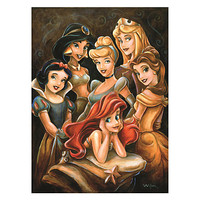 Disney Princess Gathering Giclée by Darren Wilson | Disney Store