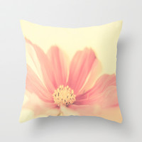 Dreamy Cosmos  Throw Pillow by secretgardenphotography [Nicola]