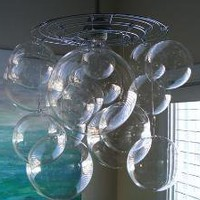 Bubble Ball Chandelier Light Fixture by rachelsstudio on Etsy
