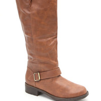 Qupid Relax Buckle Knee High Boots at PacSun.com