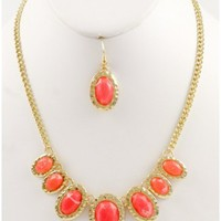 The Orange Spring Necklace