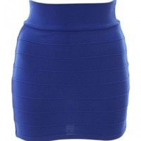 The Blue Mini Skirt
