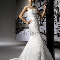 Graceful Girl Series---Tight Waist Wedding Gown