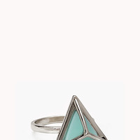 Caged Geo Ring