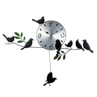 Voice of Spring Mute Girls Clocks Color Silver