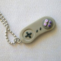Super Nintendo Controller by rudeandreckless on Etsy
