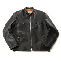 "Blackbird - Blackbird Vintage - 70's ""Brimaco"" Brand Cafe Racer Leather Jacket"