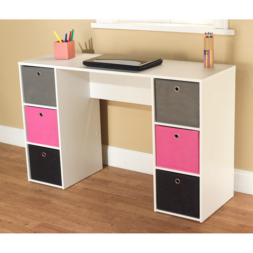 Walmart Student Writing Desk With 6 From Walmart