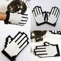 Click Oven Mitts: Pixelated Potholders - Technabob