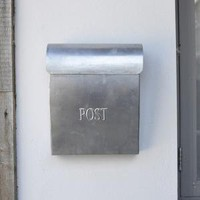 Metal Post Box ? Cox & Cox, the difference between house and home.
