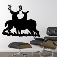 Wall Decal Deer Style G Vinyl Wall Decal 22332