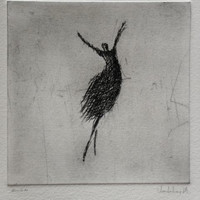 Morning. Original Etching