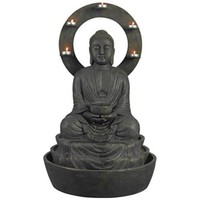 Ando Buddha indoor or Outdoor Fountain - #3F495 | LampsPlus.com