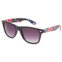 Full Tilt Mabel Womens Sunglasses Black Combo One Size For Women 22735314901