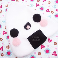 Back to School SALE - Onigiri Pouch -  Rice Ball Pencil Case , Cute Make Up Bag , Kawaii Zipper Pouch,