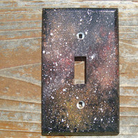 Space Galaxy Light Switch Cover