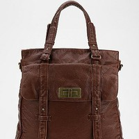 BDG Vegan Leather Turn-Lock Tote Bag