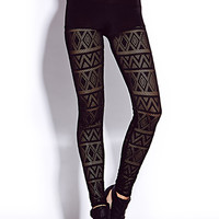 Daring Crochet Leggings | FOREVER 21 - 2000076055