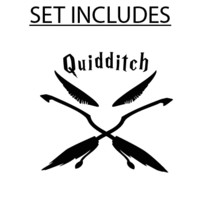 Quidditch Macbook Decal | Macbook Vinyl Decals | The Decal Guru