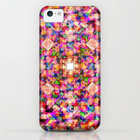 Colorful Digital Abstract iPhone & iPod Case by Phil Perkins