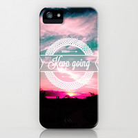 Keep going iPhone & iPod Case by Louise Machado
