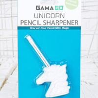 Unicorn Pencil Sharpener at Urban Outfitters