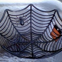 Spiderweb Serving Bowl for Halloween Candy:Amazon:Kitchen & Dining
