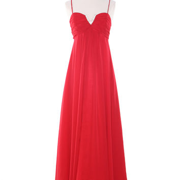 Evening Dresses, Empire Waist, Flattering Dresses, Bridesmaid Gowns, Bridal Party Dress from Sung Boutique Los Angeles, Category Red Evening Dresses