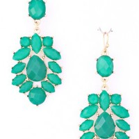 The Mint Acrylic Earrings - 29 N Under